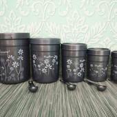 Набор емкость емкостей для сыпучих круп спецый контейнер банка сипучихОдин набор на выбор