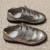 Туфли оксфорды на девочку 33 размер(стелька 21см)