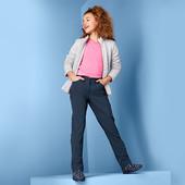 ☘ Зручні м'які теплі штани з софтшелла, Clima, просочення ecorepel, Tchibo (Німеччина), р .: 170/176