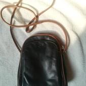 Женская кожаная сумка крос боди Италия Calypso