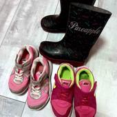 шикарный лот обуви для девочки!