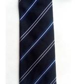 Стильный шелковый галстук (100% шелк) Tchibo германия размер универсальный