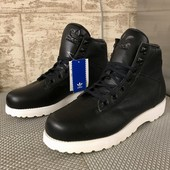 Кожа! Adidas (оригинал) / модель Adi Navvy Boot G50552! разм. (9,5 usa) (9 uk) / стелька 27,5 см!