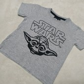 Серая футболка на мальчика Star Wars
