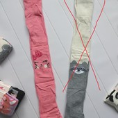 Колготы демисезонные для девочки 1-2 года, остались розовые