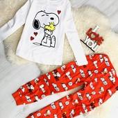 ❤️Шикарный lefties от Zara домашний комплект Snuppy для девочки 128см