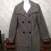 Шикарное пальто клетка от Stradivarius✓Шерсть+акрил+...✓В идеале✓Много лотов✓