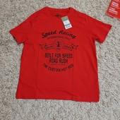 Качественная футболка из хлопка Pepperts Германия, размер 146/152