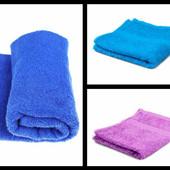 Махровые полотенца,размер 40х70 см.Туркменистан.Цвет темно-синий.