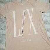 фирменая длинная футболка
