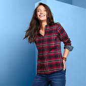 ☘ Фланелева сорочка в клітку від Tchibo (Німеччина), р .: 42-44 (36 евро)
