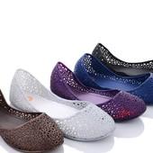 Силиконовые балетки. 4 цвета