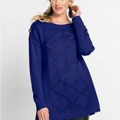 Мягкий, уютный, качественный свитер-туника. Пр-во Марокко. р-р: 40/42. новый. описание