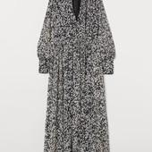 Шифоновое платье с рисунком H&M