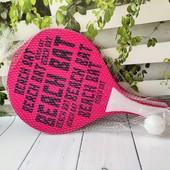 Комплект для пляжного тенниса, новый