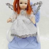 Кукла фарфоровая мини 8 см