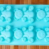 Форма для выпекания Мишка | Силиконовая форма для выпечки Мишка Барни Валера |