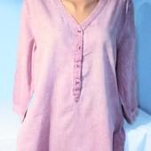 Очень красивая блуза х/б в идеальном состоянии!!! 100% котон