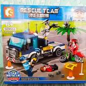 | Конструктор Sembo sd9553 Полицейский грузовик 248 деталей |