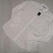 Германия! Мужская коттоновая рубашка воротник 40 размер М