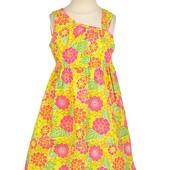 Красивые платья из США, 100% хлопок, размер на 2 года
