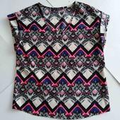 Повседневная тонкая блузка, не просвечивает