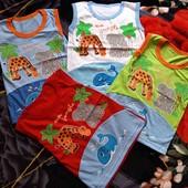 Классные футболки-безрукавки на мальчика