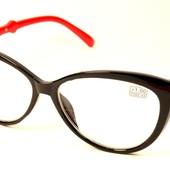 """Стильные имиджевые очки """"Кошечки""""и Лисички с диоптриями плюс+"""