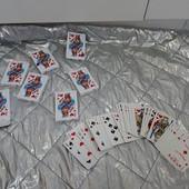 Все что на фото одним лотом супер лот 7 пачек карт