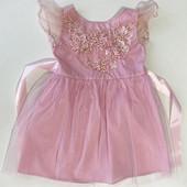 Легкое нарядное платье для Маленькой девочки