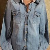 Собираем лоты!!!!!! Женская джинсовая рубашка, размер 38/8