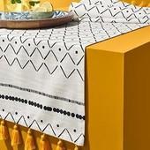 Праздничная скатерть дорожка (раннер) размер 180х40см