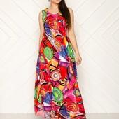 Платье в пол оверсайз 52-58
