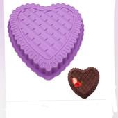 """силиконовая форма для выпекания""""сердце"""""""