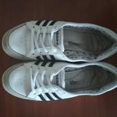 Балетки кроссовки Adidas neo. кожа 36-37 р. Оригинал. нюанс.