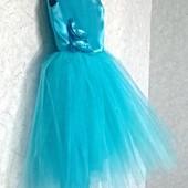 Шикарное платье на любой праздник!128-134см