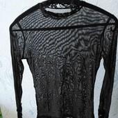 Блуза прозрачная 42-44р.