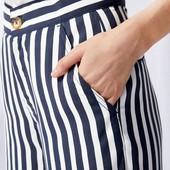 Отличные летние брюки-кюлоты Esmara Германия размер евро 38