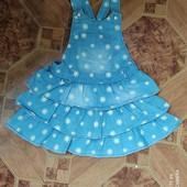 Джинсовий сарафан для дівчинки 4-5 рр