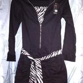 Очень классная и качественная новое платье-туника стрейч s-l