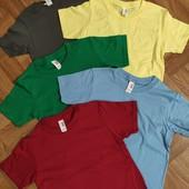 Детские и подростковые футболки 128-140