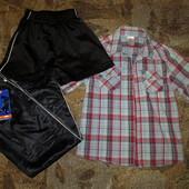 Летний пакет одежды для мальчика 9-13+- лет, в отличном и новом состоянии