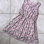 Стоп ) ажурное❤ Фирменное кружевное платье с цветочным принтом,9/10 лет❤ Много лотов!