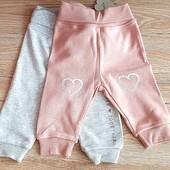 Набор штанців на вашу малечу, розмір 50/56, на 0/2місяців, бренд lupilu Геpманія