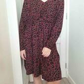 Платье в леопардовый принт от C&A ПОГ 59см