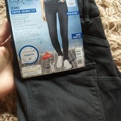 RR208.стильные джинсы super Skinny Fit , от Esmara.