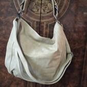 Не пропустіть!!! Фірмова шкіряна велика сумка-мішок, стан нової!