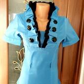 Стоп!Шикарнейшая нарядная турецкая блузочка р.40