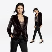 ❤️Esmara Германия❤️бархатный пиджак элегантный и стильный евро 40