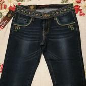 Классные джинсы с вышивкой